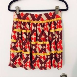 Urban Outfitters geometric skirt